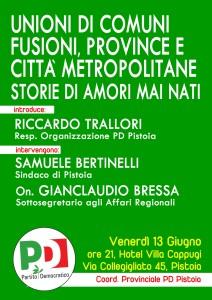 Riforme istituzionali Bressa Bertinelli 130614